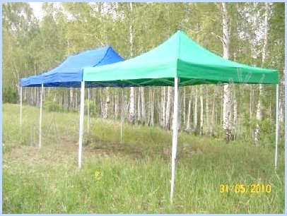шатер-тент для летнего кафе
