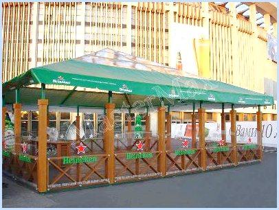 шатры-тенты для летнего кафе